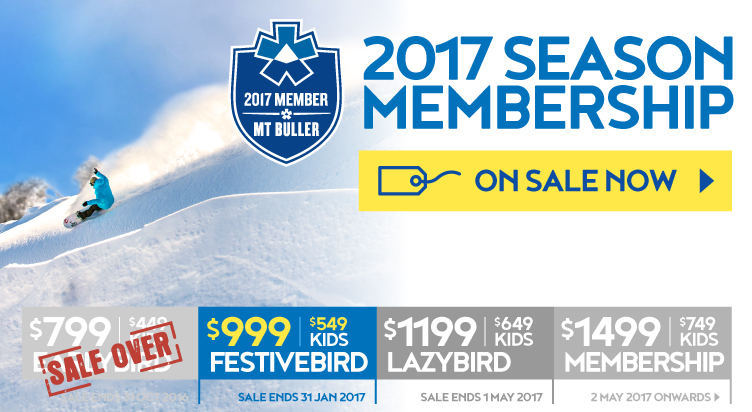 Season Memberships On Sale Now!